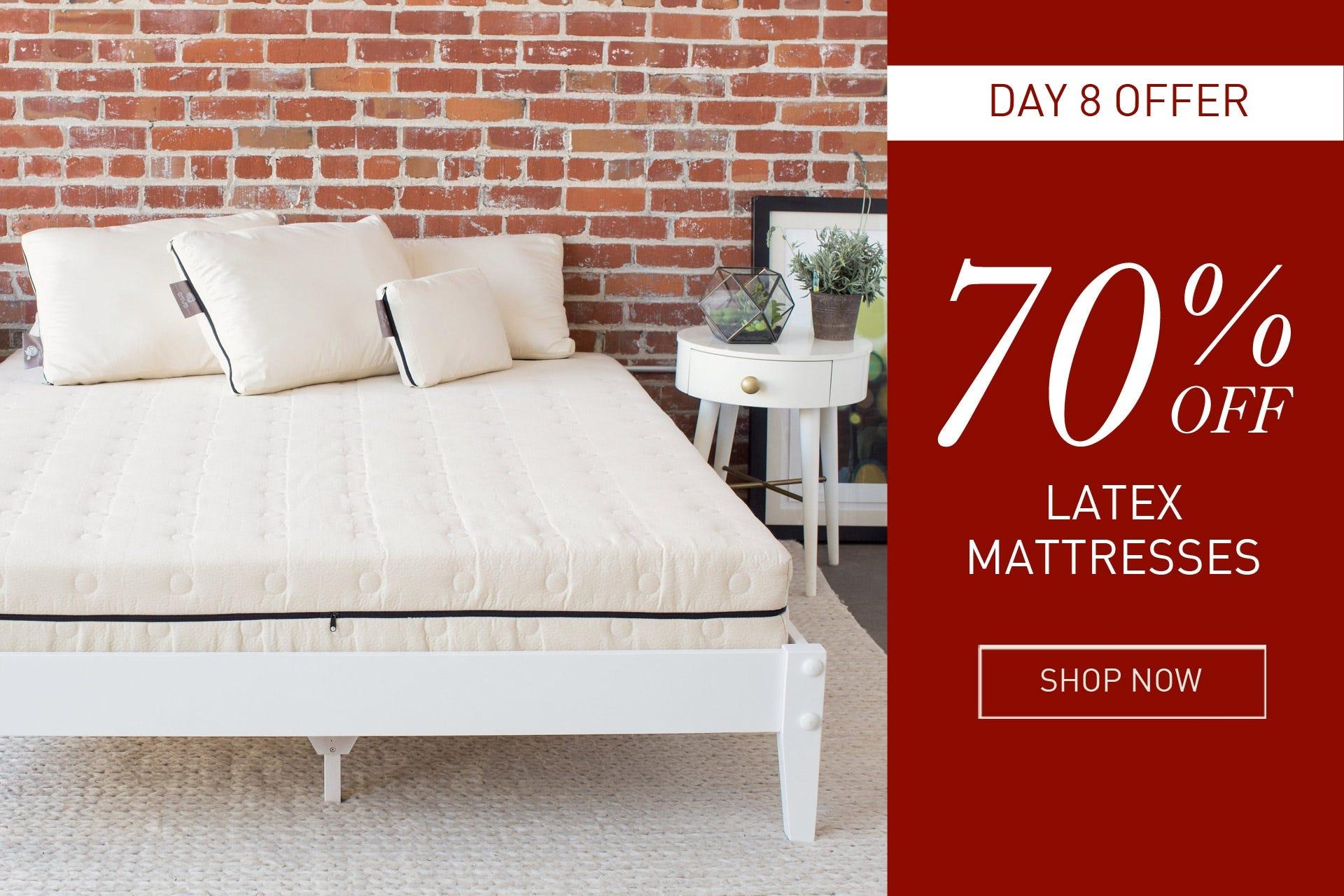 latex mattresses