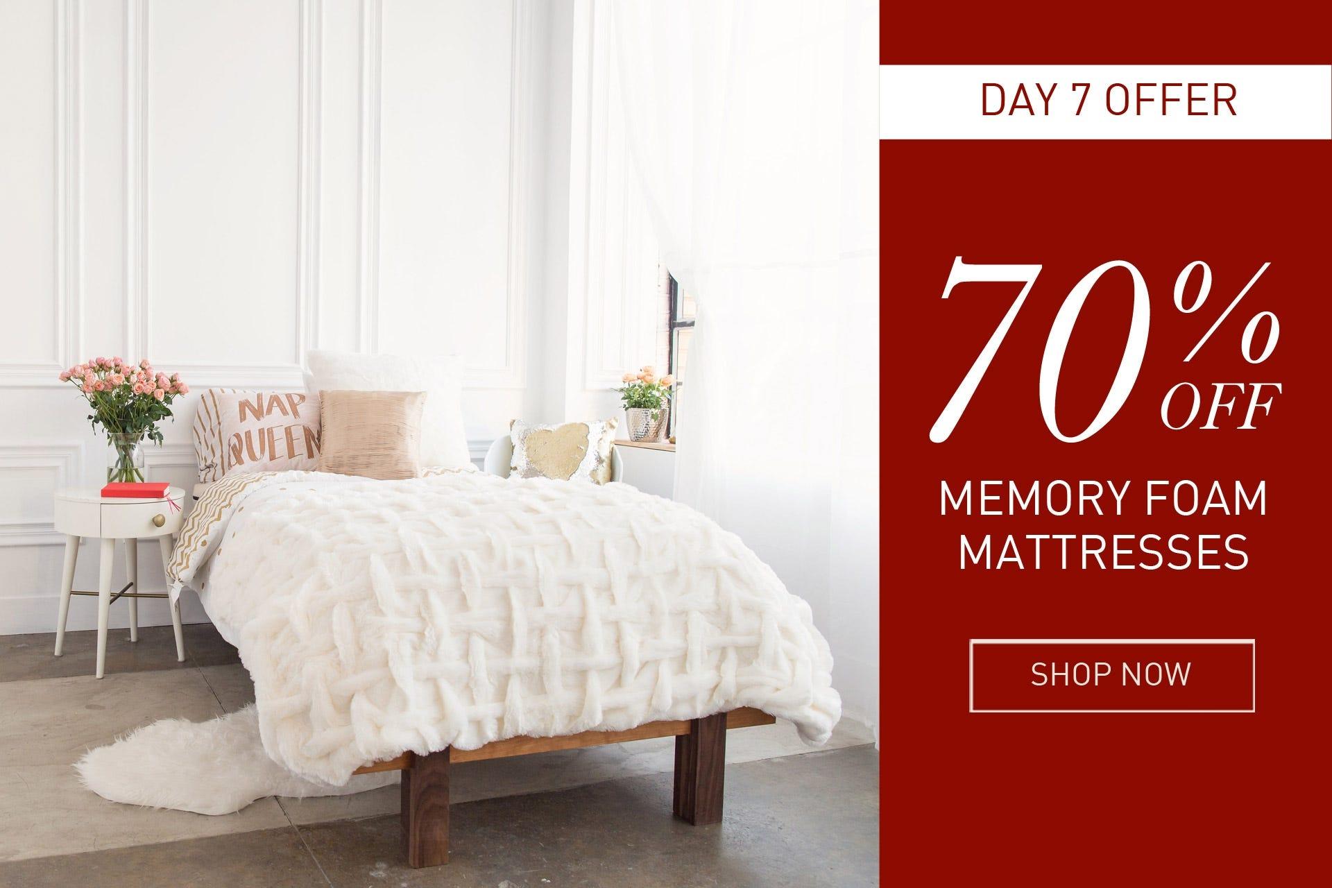 memory foam futon mattresses