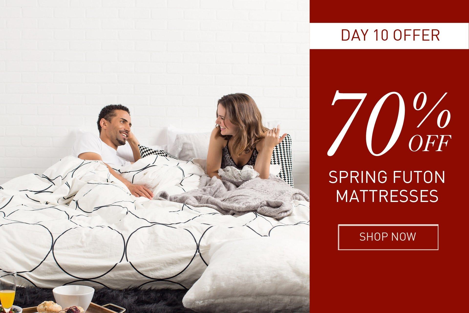 Spring futon mattresses