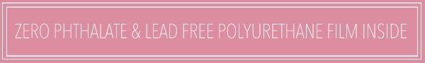 Zero Phthalate & lead free polyurethane film Inside