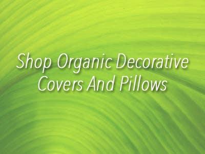 Shop Organic Decorative Pillows