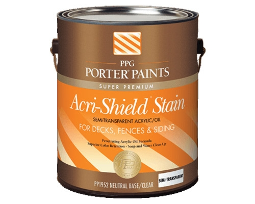 Exterior stains