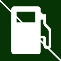 Keep idling gas engines away from the home