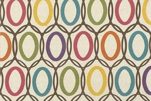 Geometric Cotton Futon Slipcover Vera Bouquet
