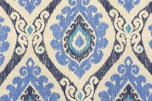 Laurel Cotton Futon Slipcover Victoria Blueberry