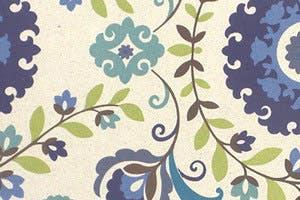 Veronica Cobalt Blue Floral