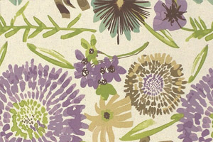 Vivian Thistle Multi-colored Floral
