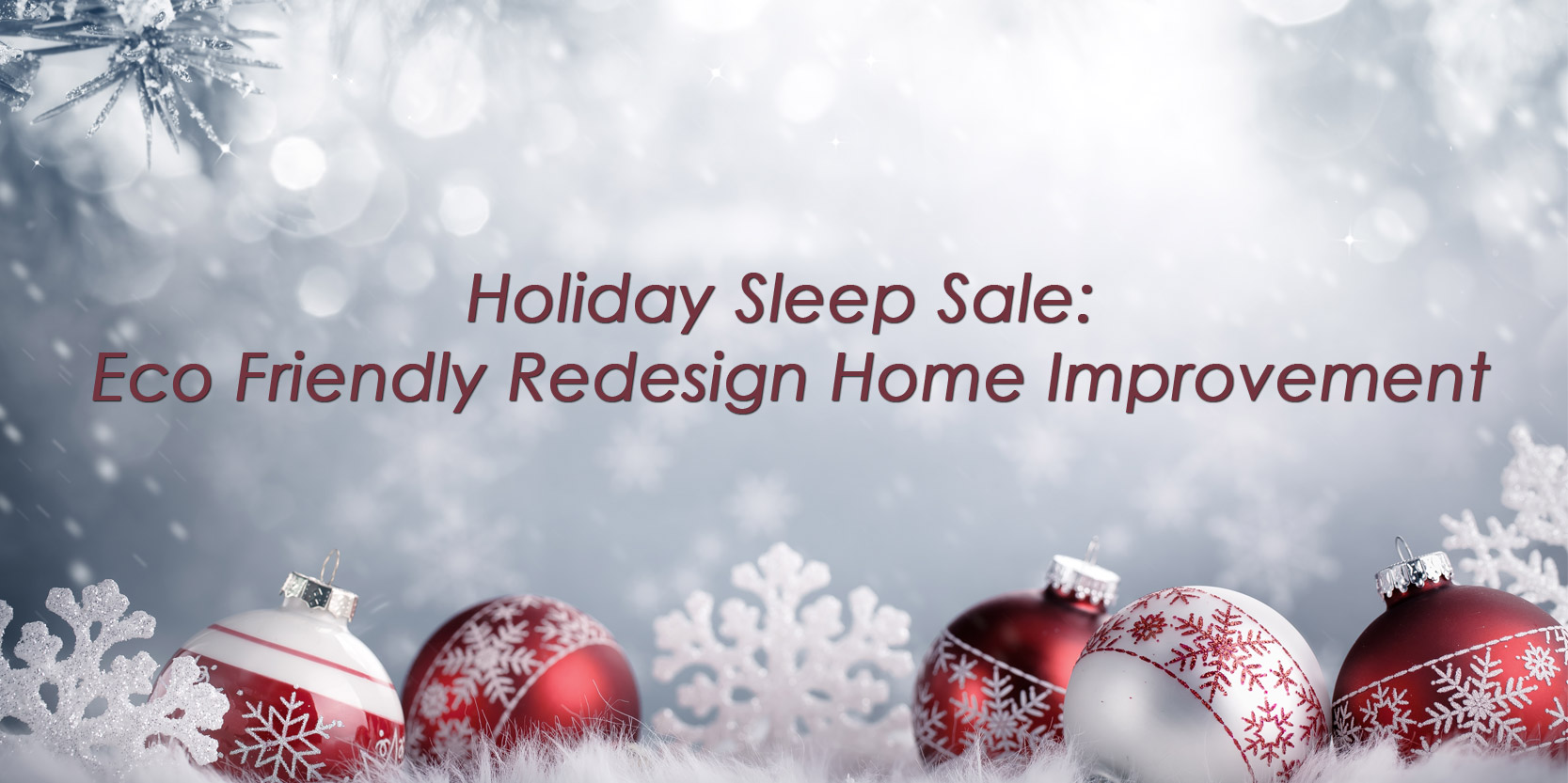 Holiday Sleep sale