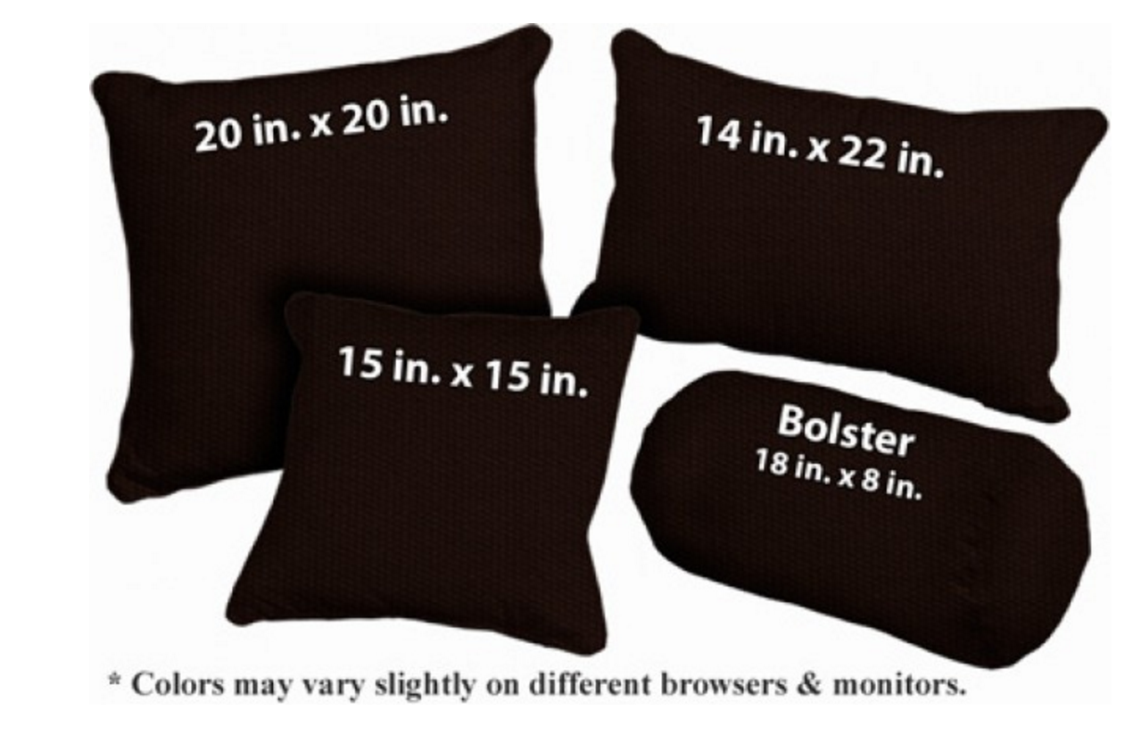 Washable Outdoor Pillows