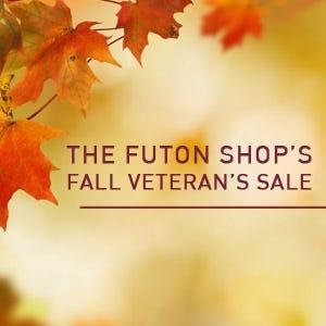 The Futon Shop 2018 Veterans Day Sale