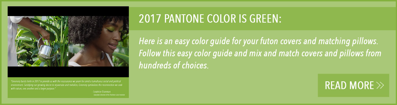 Color Ideas For Your Futon Covers And Matching Pillows