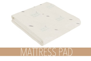Organic Waterproof Mattress Pad
