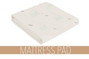 Organic Waterproof Mattress Pad