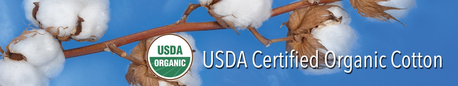 USDA Certified Organic Cotton