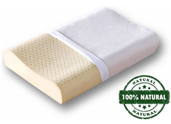 All Natural Contour Latex Bed Pillow