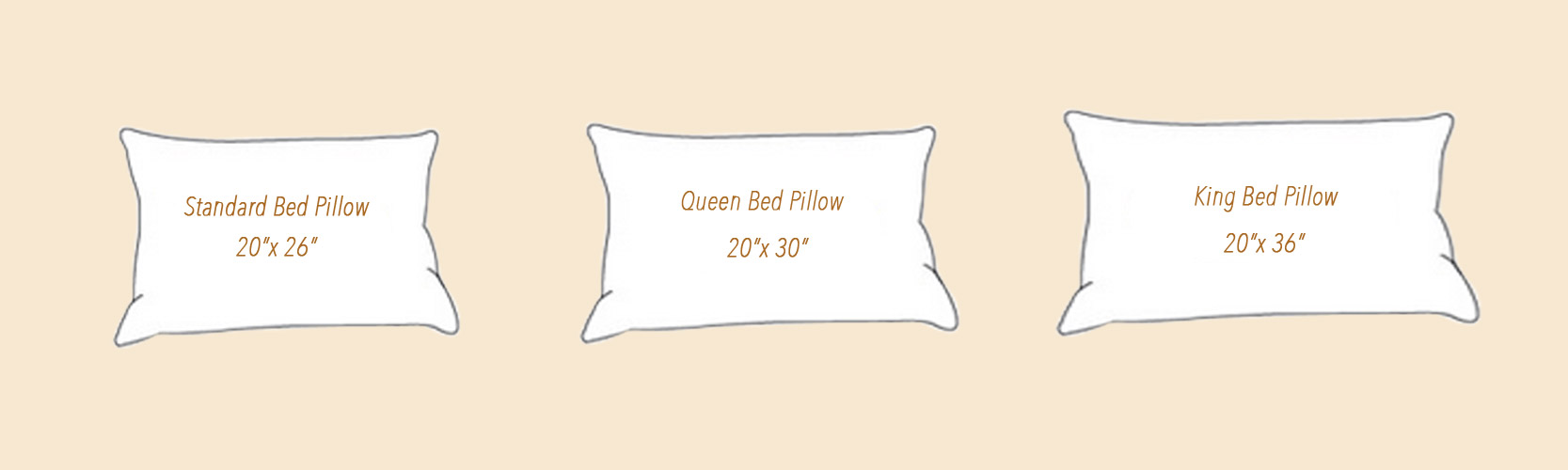 Standard Bed Pillows