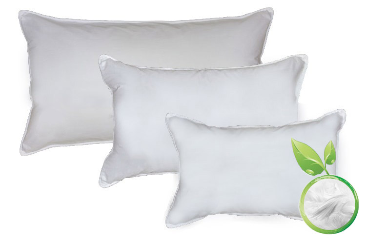 All Natural Hand Made Down Bed Pillows