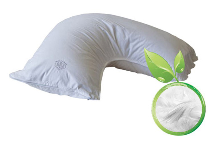 All Natural Hand Made Down Side Sleeper Pillow