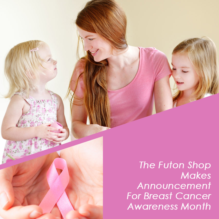 The Futon Shop Makes Announcement For Breast Cancer Awareness Month