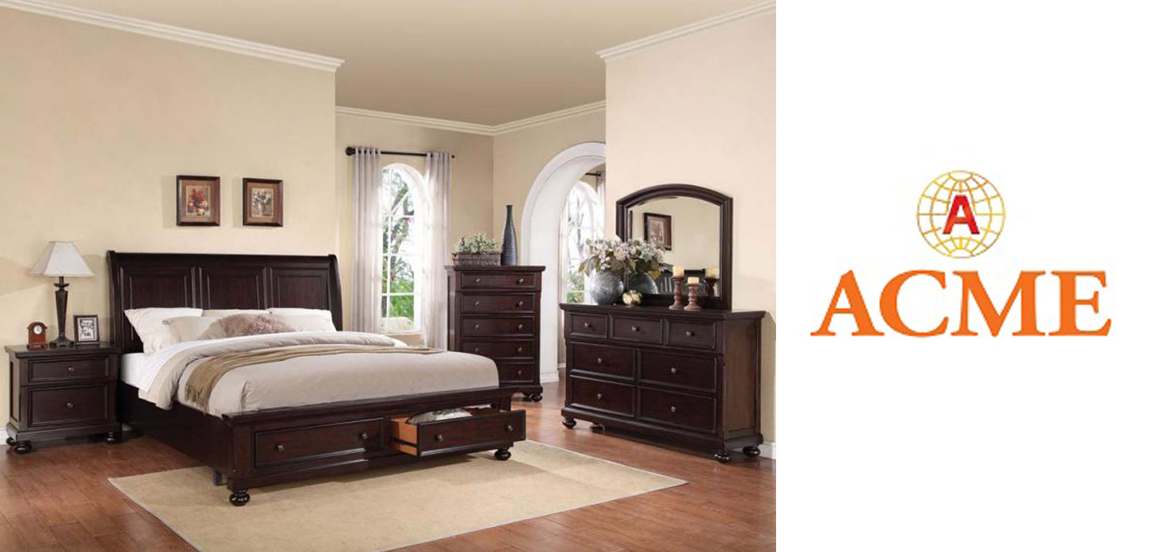 Merveilleux Acme Furniture Is One Of The Largest Furniture Distributors In The Nation  With 6 Branches Across The United States. Their Locations Include Woodside,  ...