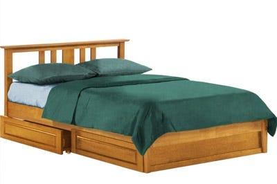 Platform Bed Frames Are Ideal For Bedrooms