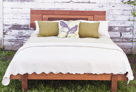 Natural Solid Wood Bed Frames