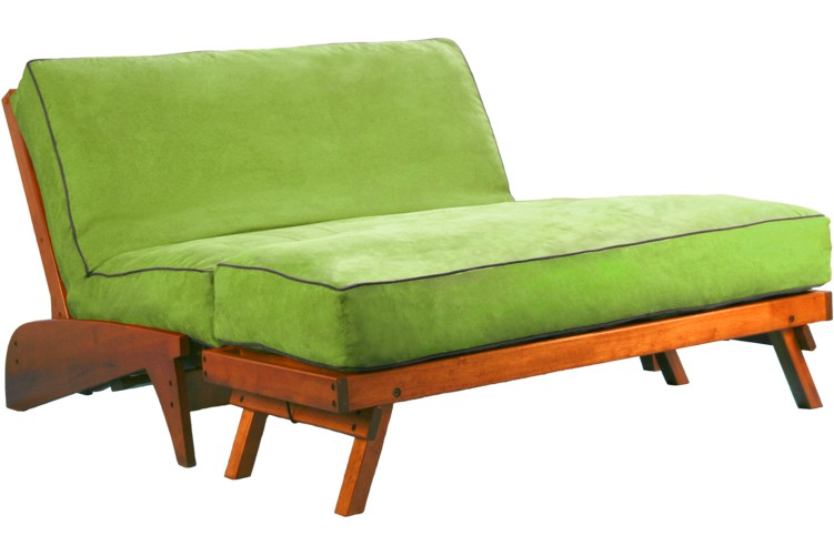 Dillon Warm Cherry Futon Frame