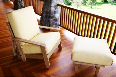 OUTDOOR TWIN FUTON SIZE LOUNGERS
