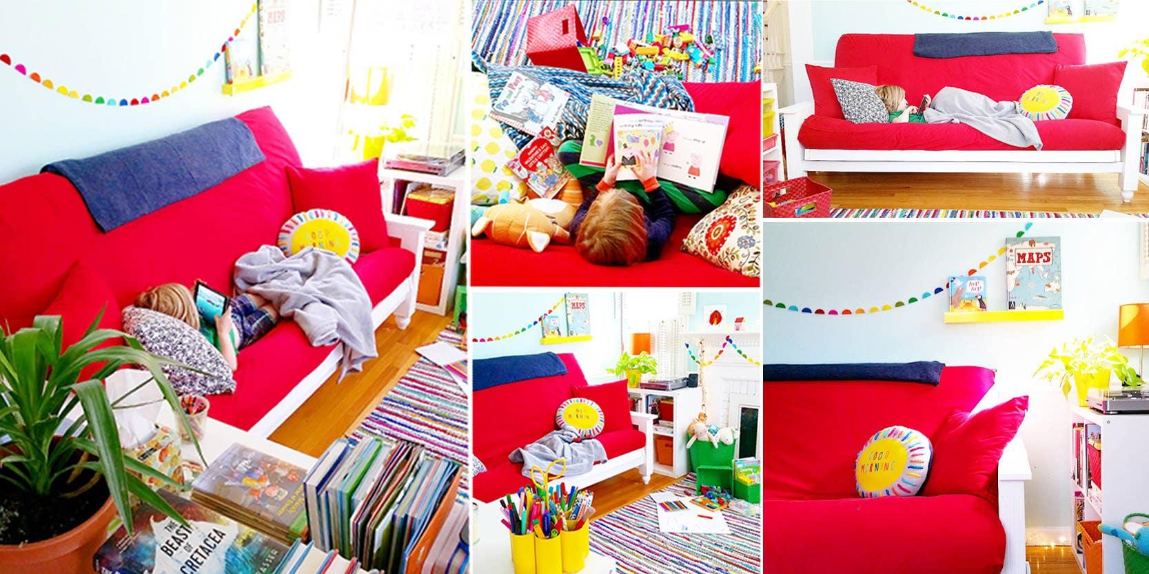 Remodeling The Kids Playroom