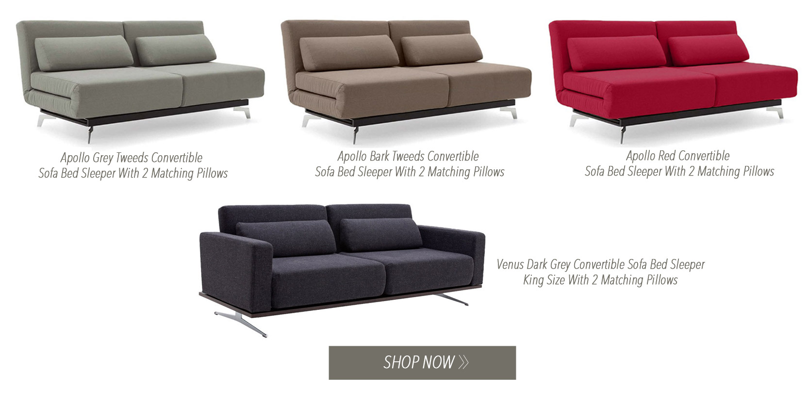 King Size Futons: Modern Sofa Beds