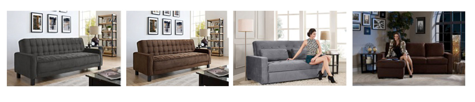 Double Futon Size Modern Sofabeds