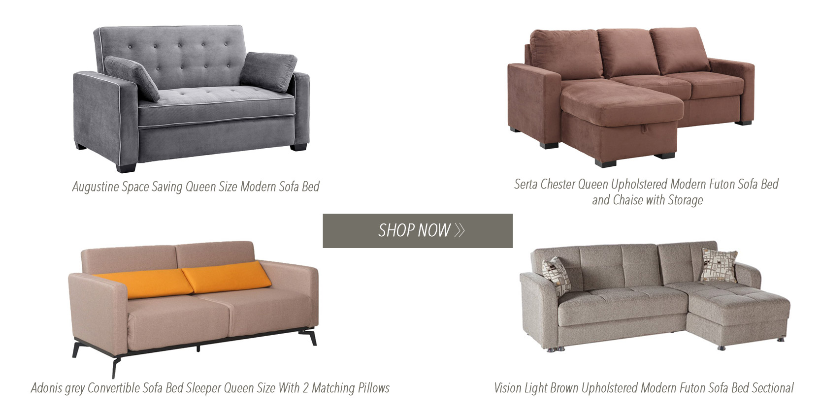 Modern Sofabed Sleepers Queen size
