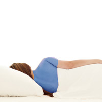 healthy mattress and sleep positions
