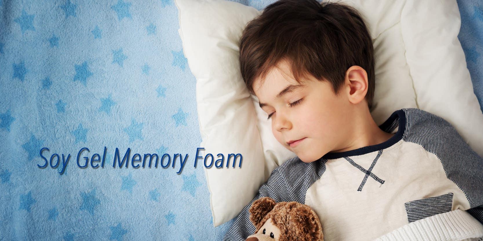 Soy Gel Memory Foam Mattresses