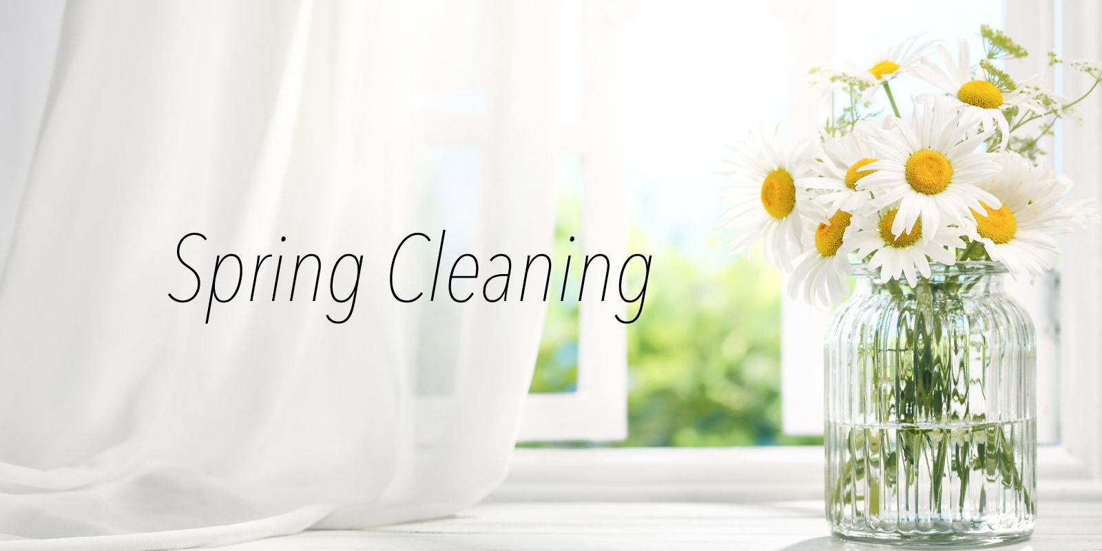 Easter Vacation Is A Great Opportunity To Spring Clean