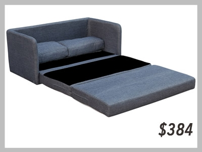 Phillip Grey Space Saving Loveseat Sofabed