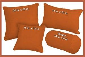 Organic Cotton Pillows Sweet Potato