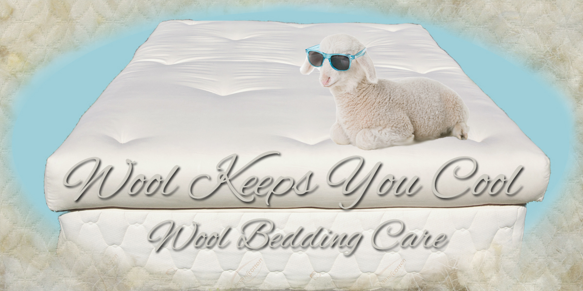 Wool Bedding Care