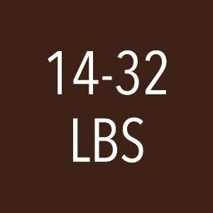 14-32 lbs