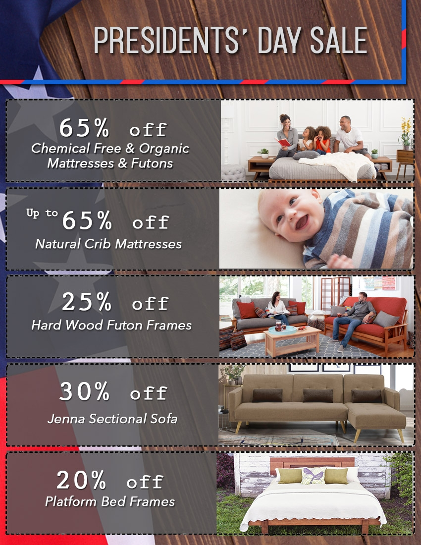 Futon Coupon Pleasant Hill