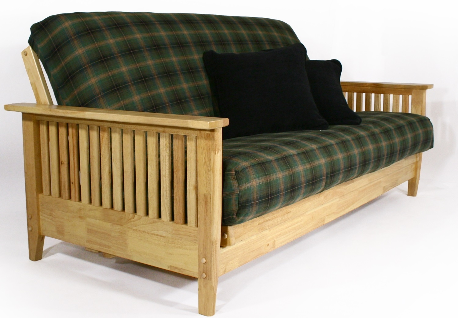Denali Wooden Futon Sofa Bed