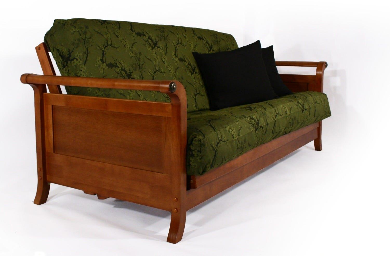 Lexington Warm Cherry Futon Sofabed