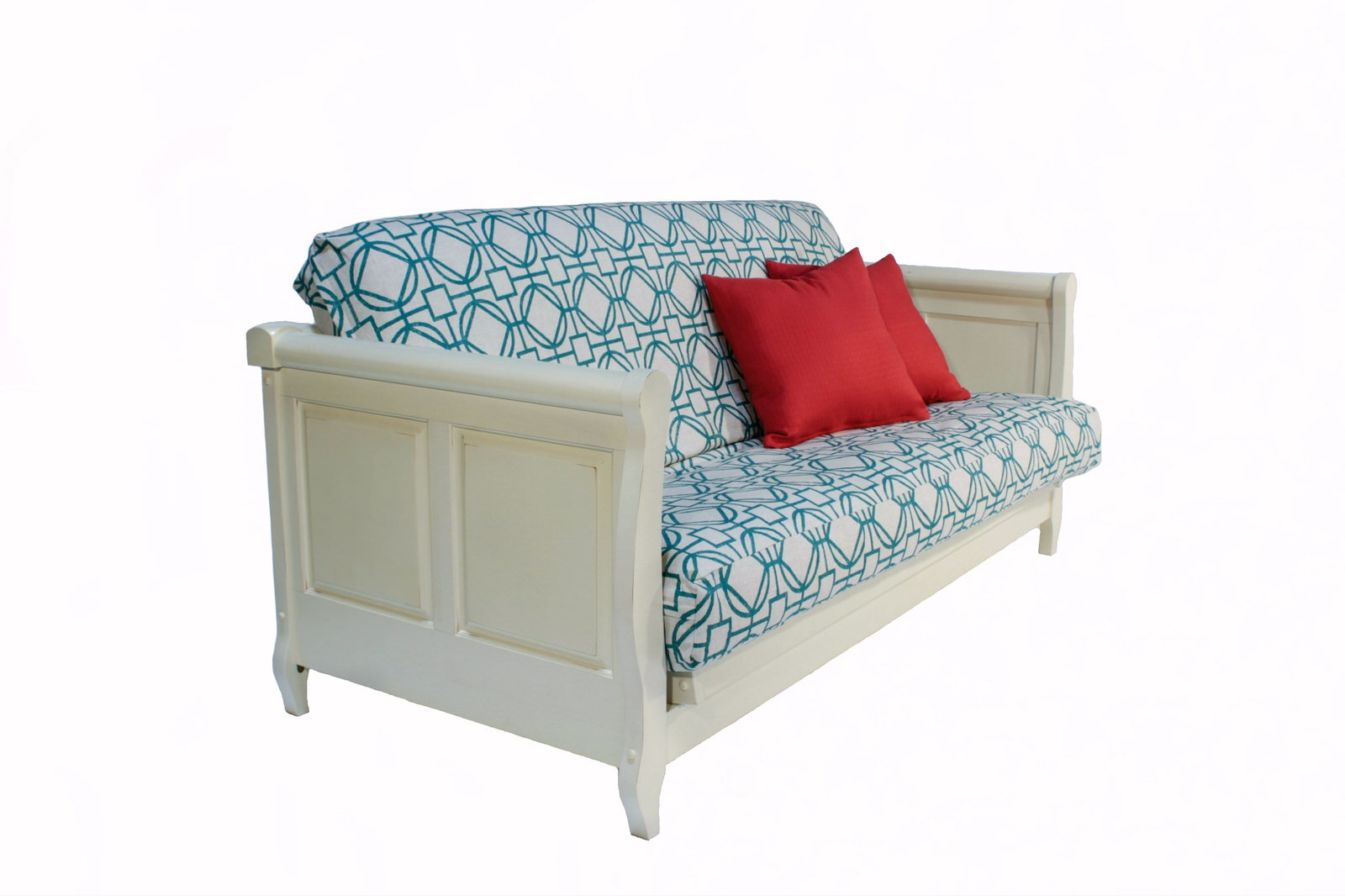 Adriana White Wall Hugging Futon Bed