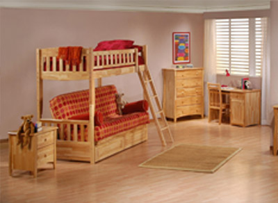 Futon Bunk Bed Sets