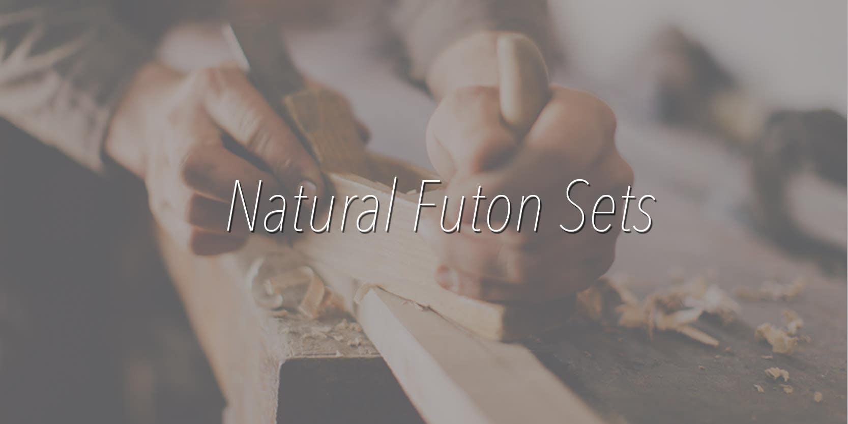 Natural Futon Sets