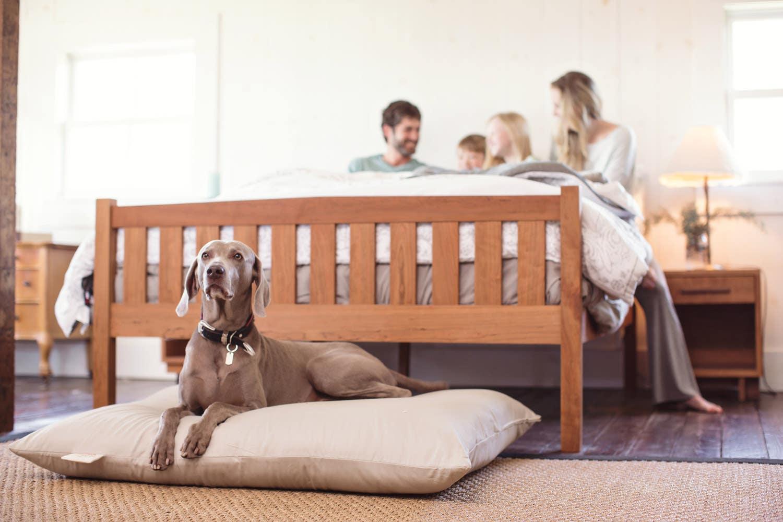 Natural Platform Bed Sets