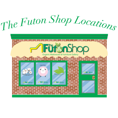 Visit one of our 11 California Futon Shop retail locations!