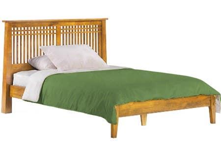 mission style platform bed