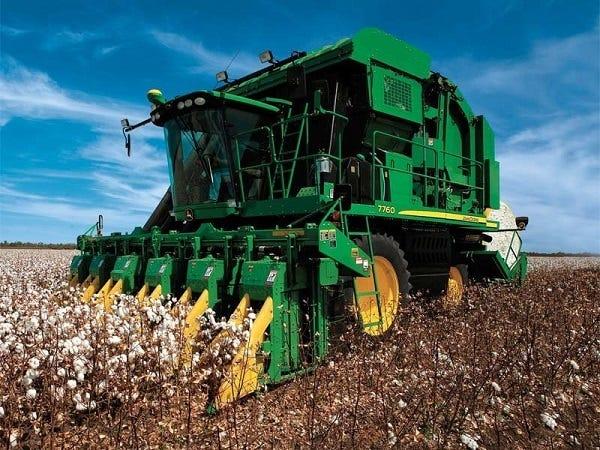 cotton picker versus cotton stripper