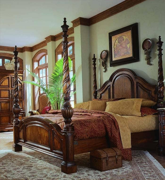 Traditional Platform Bed